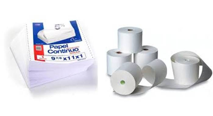 Papel printer Matriciales Caja-Rollo