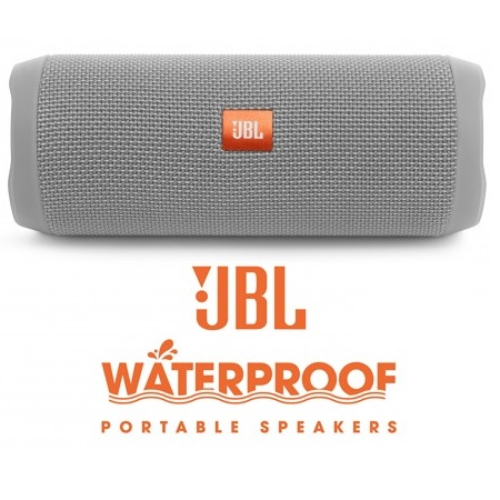 Bocinas Portable Jbl Flip4 Bluetooth Gray