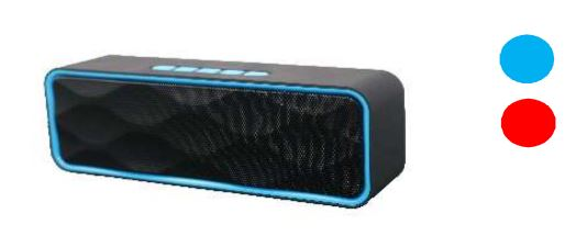 BOCINAS  MYO-B30B BLUETOOTH BLK/BLUE