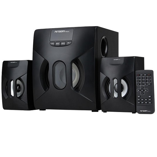 Bocinas 2.1 Argom Soundbass 20 Speaker System Black Arg-sp-3560bk