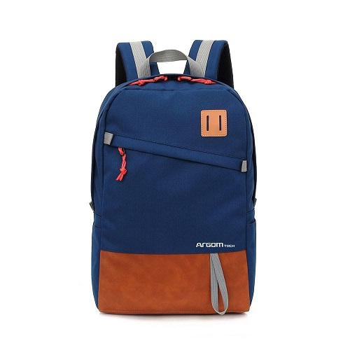 BULTO NOTEBOOK 15.6 ARGOM CAPRI BACKPACK BLUE/BROWN ARG-BP-1340NL
