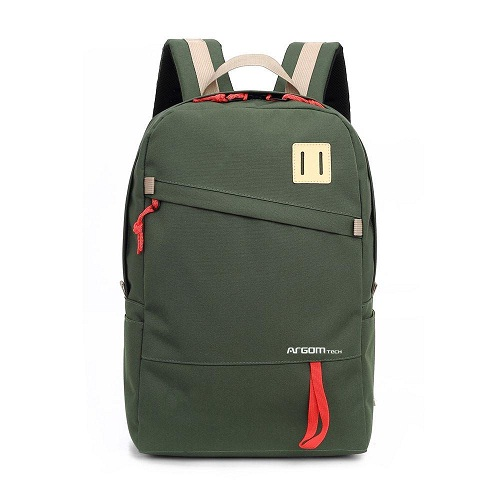 BULTO NOTEBOOK 15.6 ARGOM CAPRI BACKPACK GREEN ARG-BP-1340GN