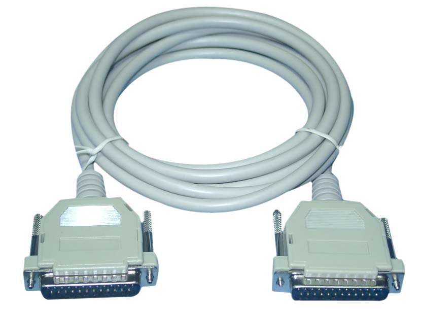 Cable Printer Paralelo 6ft (db25m/ Db25m)