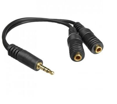 ADAPTADOR AUDIO 3.5 (M) TO 3.5 (2) (F) SPLITTER IME-41283