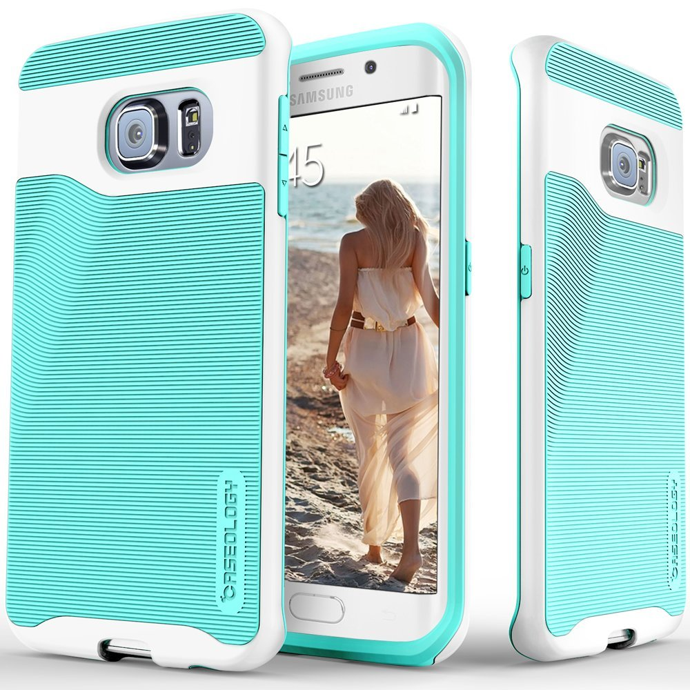 COVER CEL GALAXY S6 EDGE CASEOLOGY MINT