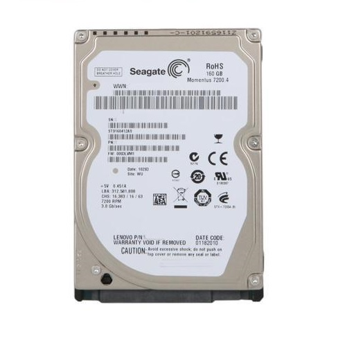 Disco Sata Laptop 160gb 7200 Rpm Seagate