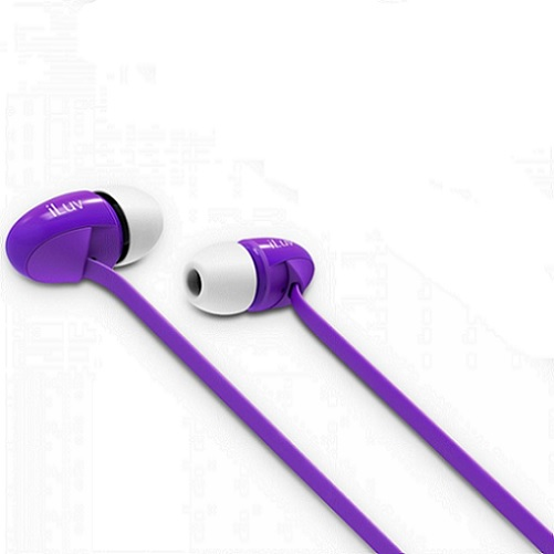 AUDIFONOS ILUV 3.5MM PEPPERMINT - EARPHONES PURPLE