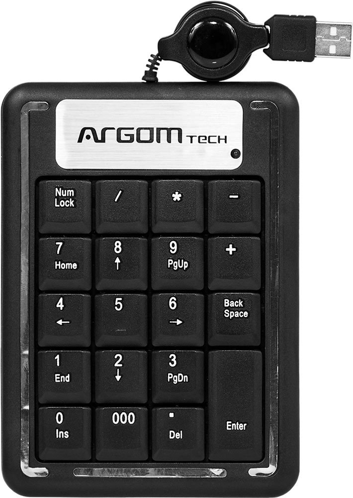 KEYPAD ARGOM USB MULTIMEDIA ARG-KB-1075