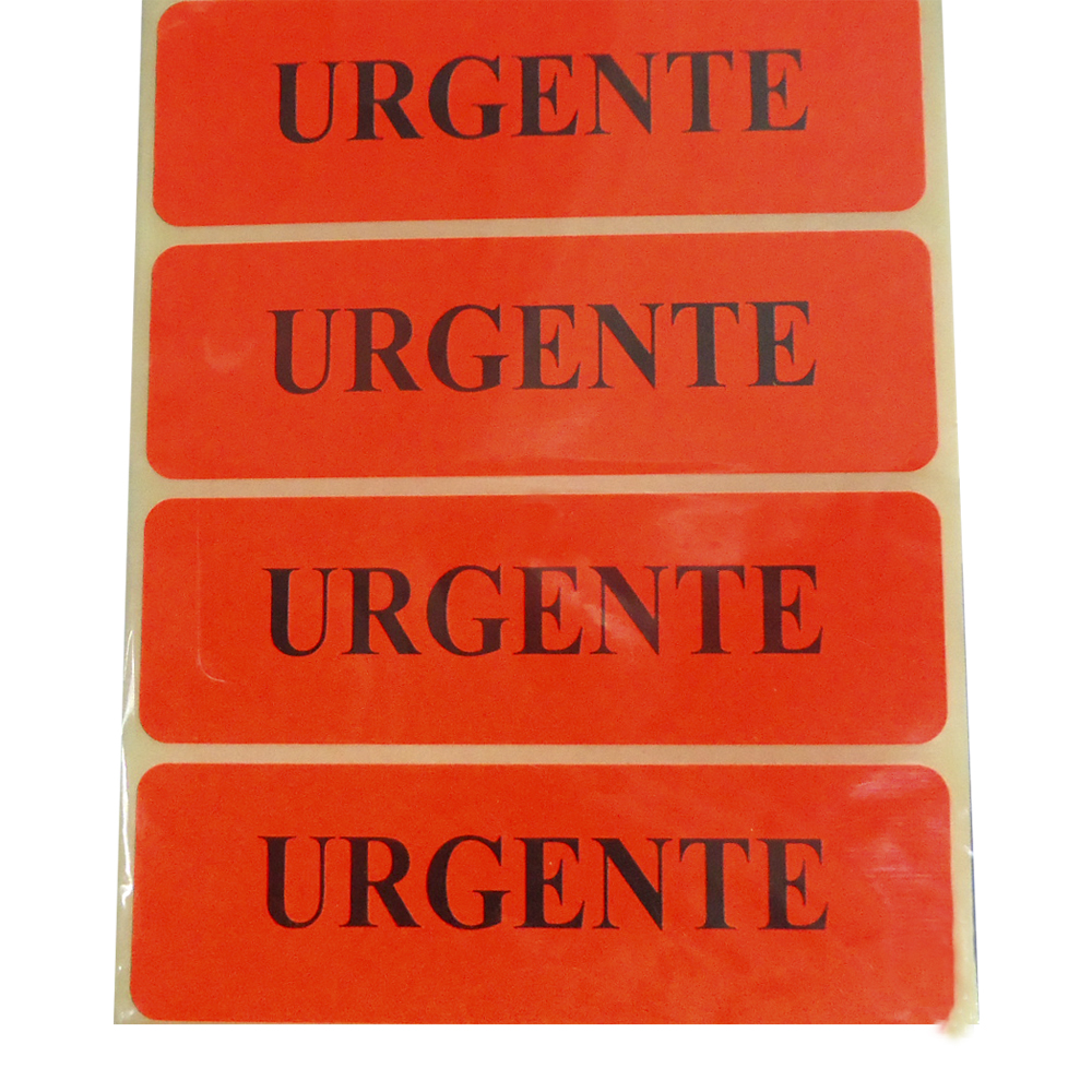 Label Urgente 1 X 3   (23.5x76mm)