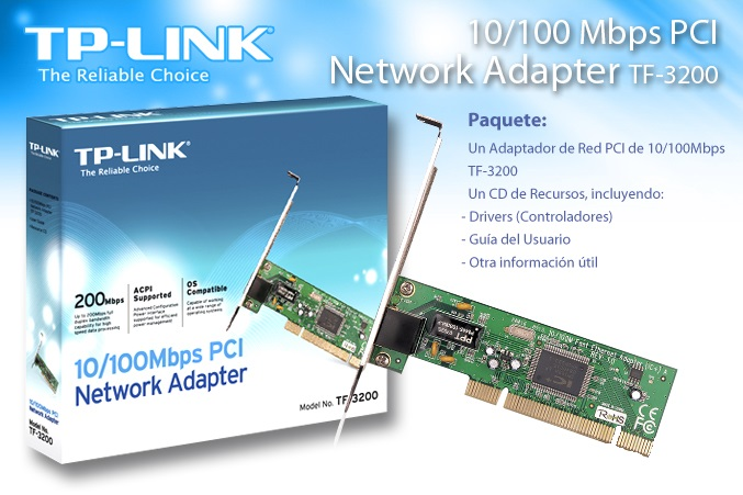 LAN CARD PCI TP-LINK 10/100 TF-3200