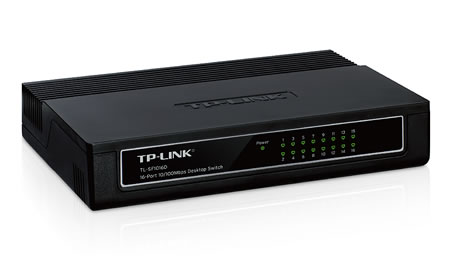 Lan Switch 16p Tp-link 10/100 Tl-sf1016d