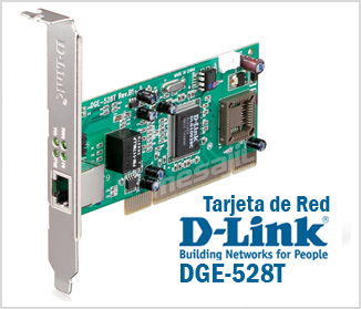 LAN CARD PCI D-LINK DGE-528  10/100/1000 LOW PROFILE