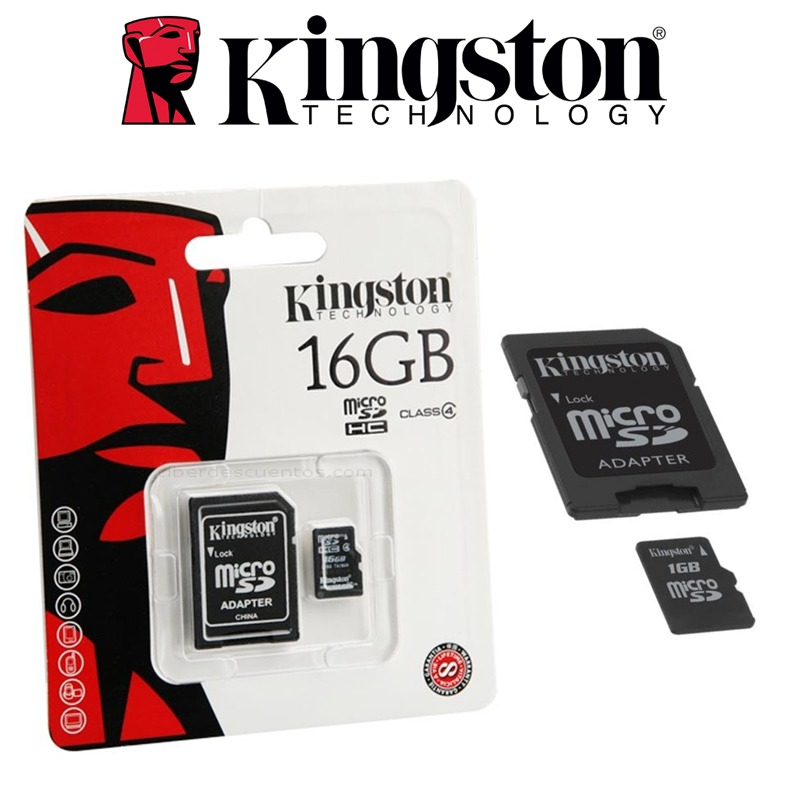 MEMORY 16.0 GB SD KINGSTON SD4/16GB