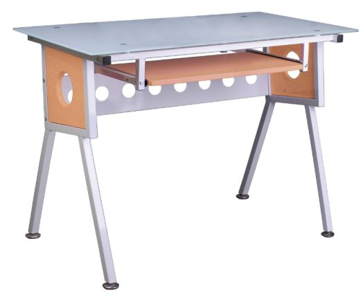 MESA CRISTAL TOPE WHITE/CHERRY AM100XTK01