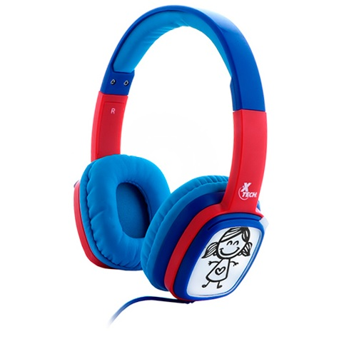 AUDIFONOS ARGOM ARG-HS-0616L BLUETOOTH BLUE