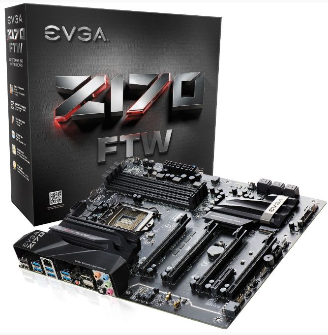 MOTHER BOARD EVGA Z170 LGA 1151