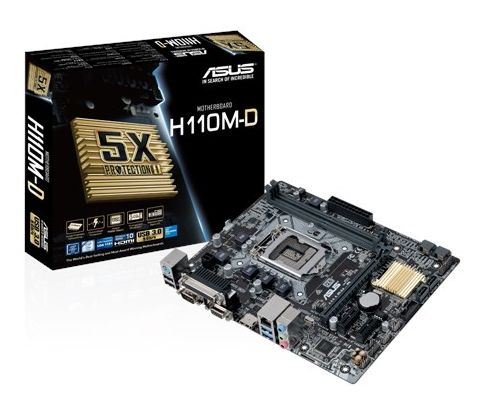 MOTHER BOARD ASUS H110M-D  LG1151