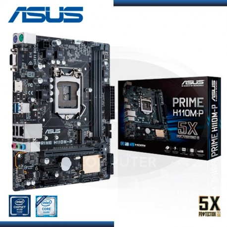 MOTHER BOARD ASUS H110M-P PRIME  LG1151