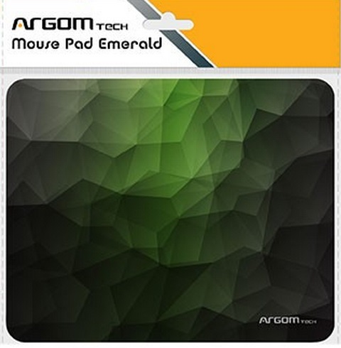 Mouse Pad Cloth/rubber Argom Arg-ac-1233g Green