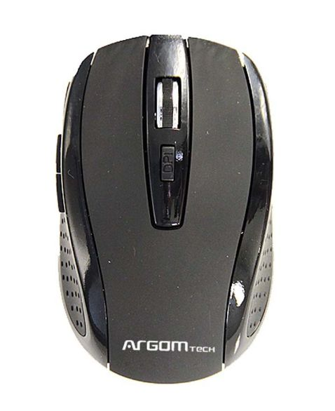 Mouse Argom 2.4ghz Wireless Red Arg-ms-0031rd