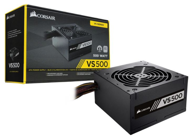 POWER SUPPLY 500W CORSAIR VS500