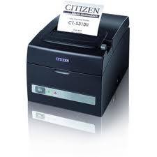 PRINTER FISCAL CITIZEN CT-S310II-U-BK TERMICA