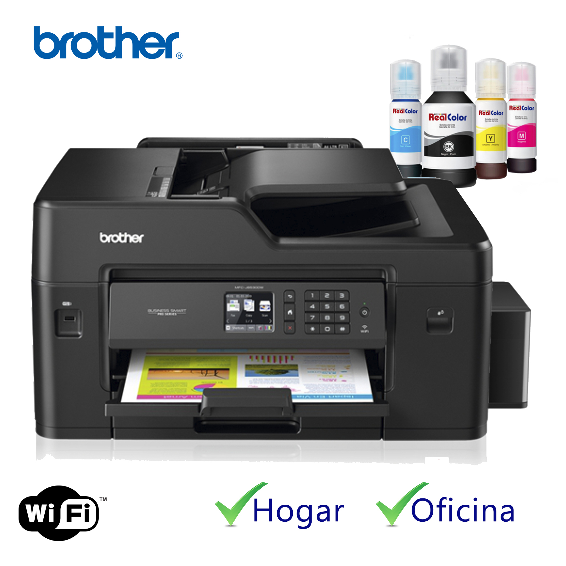 PRINTER BROTHER MFC-J5620DW  + SISTEMA TINTA