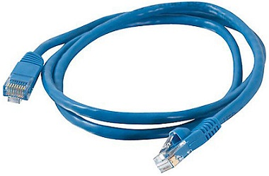 RJ-45 PATCH CORD NEXXT CAT5E 3FT BLUE