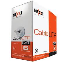 RJ-45 CABLE UTP CAT6 ROLLO 1000FT NEXXT