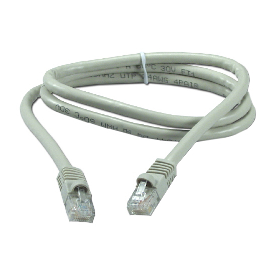 RJ-45 PATCH CORD NEXXT CAT6E 3FT GR