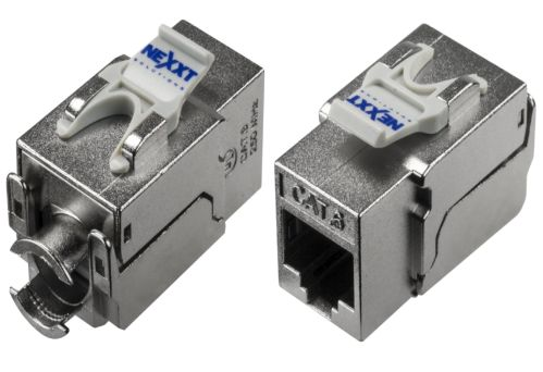 RJ-45 JACK KEYSTONE NEXXT CAT6E TOOLLESS PCGKJC6TYRJSL