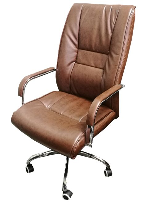 SILLON EJECUTIVO RT-335 (S1025) PU MARRON