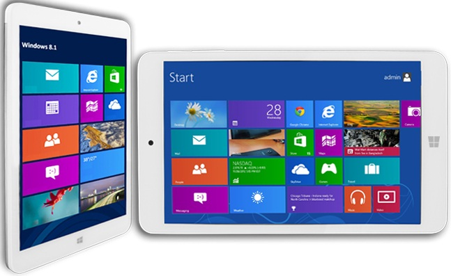 TABLET 8.0 STARTAB TW0801 16GB SILVER WIN-8.1