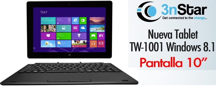 TABLET 10.0 STARTAB TW1001 32GB 2.0GB  WIN 8.1 BING