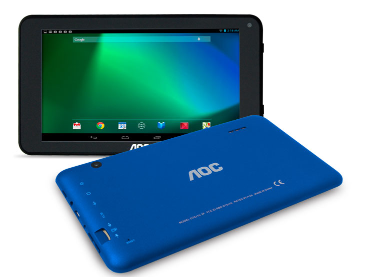 TABLET 7.0 AOC ULTRA-SLIM D70J10-2B BLUE