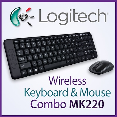 Teclado/mouse Usb Logitech Mk220 Wireless