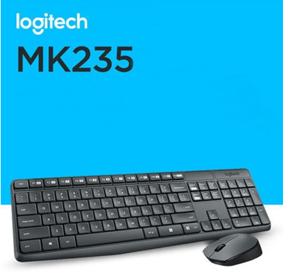 TECLADO/MOUSE USB LOGITECH WIRELESS MK235