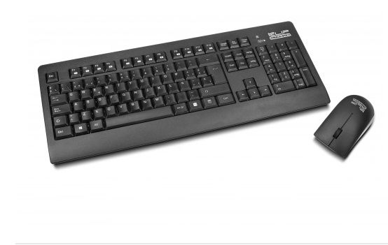 TECLADO/MOUSE KLIPX INSPIRE KCK-265E WIRELESS ENG