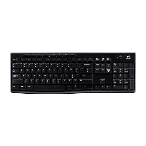TECLADO LOGITECH WIRELESS K270 SPA