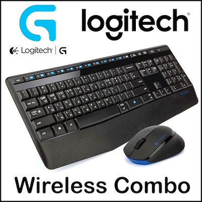 TECLADO/MOUSE USB LOGITECH WIRELESS MK345