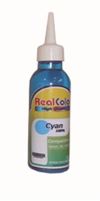 TINTA REAL COLOR CYAN UNIVERSAL 122ml