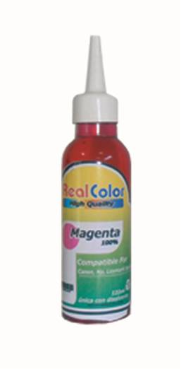 TINTA REAL COLOR MAGENTA UNIVERSAL 122ML