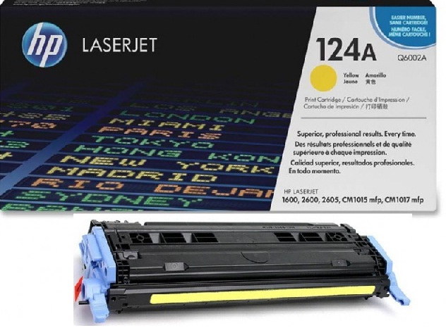 TONER HP Q6002A SMART TONER YELLOW ORIGINAL