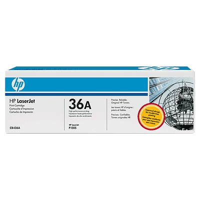 TONER HP 36A CB436A BLACK ORIGINAL