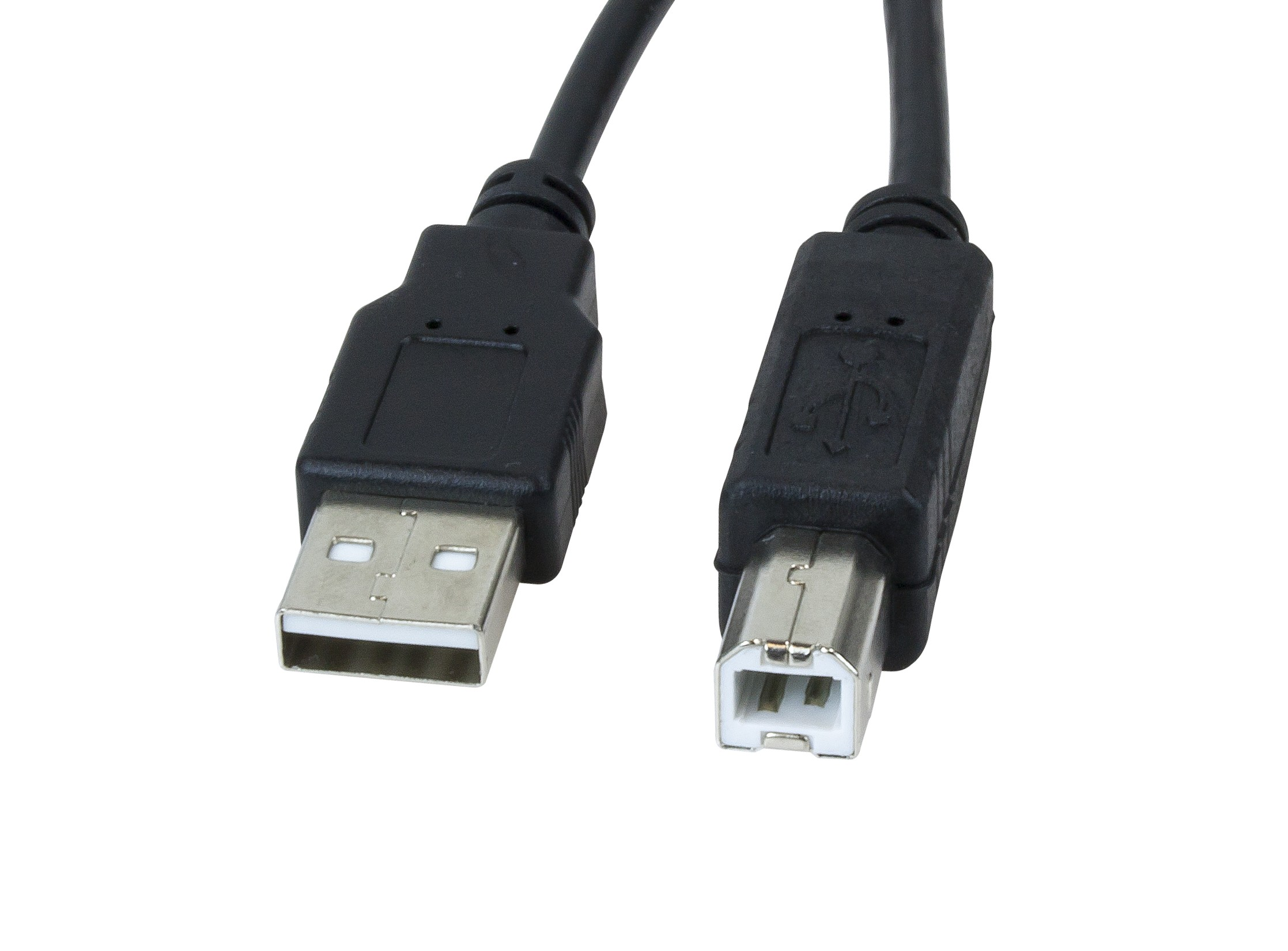 CABLE PRINTER USB 15FT  (A-MALE TO B-MALE)