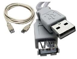 USB CABLE EXTENSION A-MALE TO A-FEMALE 15FT (AB004XTK07)