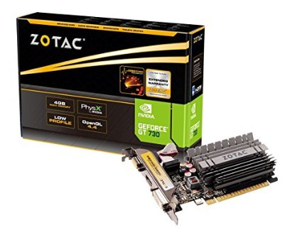 VIDEO 4GB DDR3 ZOTAC GT730 64BIT