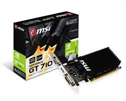 VIDEO 2GB DDR3 MSI GT710 64BIT