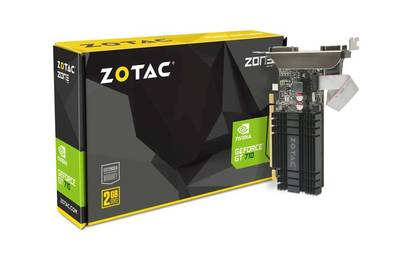 VIDEO 2GB DDR3 ZOTAC GT710 64BIT