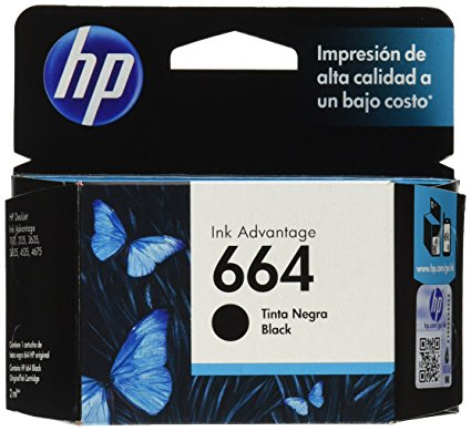 Cart. Hp #664 Black